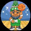 Basketball Garden Gnome