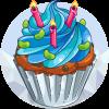 Jelly Bean Birthday Cake