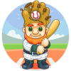 Baseball Garden Gnome